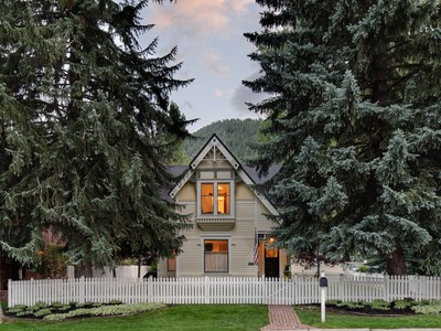 Single Family Home for sales at Updated West End Victorian 333 West Bleeker Street Aspen, Colorado 81611 United States