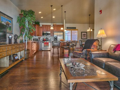 Single Family Home for sales at Top Floor End Unit – Every Possible Upgrade – Great Views 5569 N Oslo Ln #3404 Park City, Utah 84098 United States