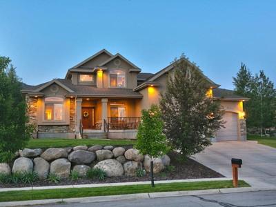 Casa para uma família for sales at Perfect Cove at Valley Hills Home in Heber 1984 N Cherry Ln Heber City, Utah 84032 Estados Unidos