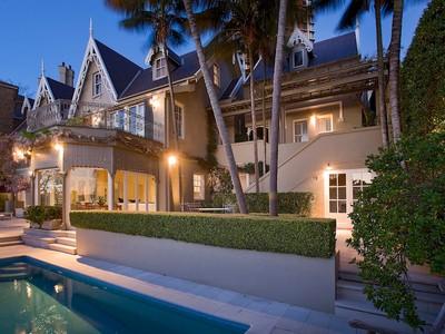 獨棟家庭住宅 for sales at Craigholme 55 Yarranabbe Road Darling Point, New South Wales 2027 澳大利亞