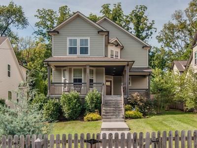 Einfamilienhaus for sales at 933 South Douglas Avenue  Nashville, Tennessee 37204 Vereinigte Staaten