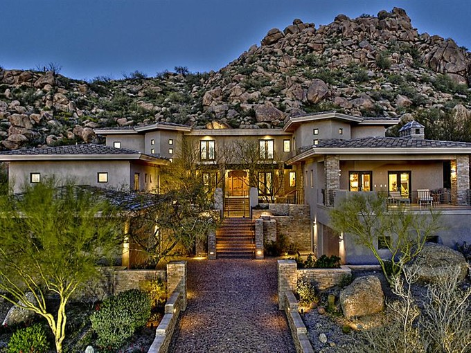 Single Family Home for sales at Hillside Masterpiece in Estancia 27771 N 103rd Place Scottsdale, Arizona 85262 United States
