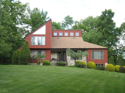 Single Family Home for sales at Magnificent Contemporary Home 1077 Tullo Farm Road  Bridgewater, New Jersey 08807 United States