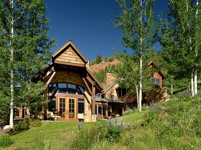 Single Family Home for sales at Aspen Highlands Ski-In/Ski-Out Luxury Mtn. Chalet 460 Thunderbowl Lane  Aspen, Colorado 81611 United States