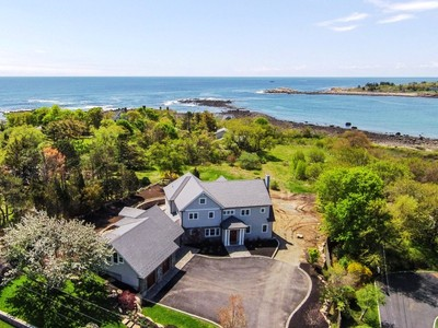 Single Family Home for sales at Eastern Point - Views of Brace's Cove 55 Farrington Avenue  Gloucester, Massachusetts 01930 United States