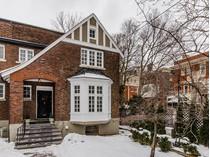 Частный односемейный дом for sales at Montreal 11 Rue Redpath-Court   Montreal, Квебек H3G1C9 Канада