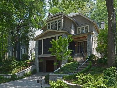 Villa for sales at Ansley Park 179 Avery Drive NE Atlanta, Georgia 30309 Stati Uniti