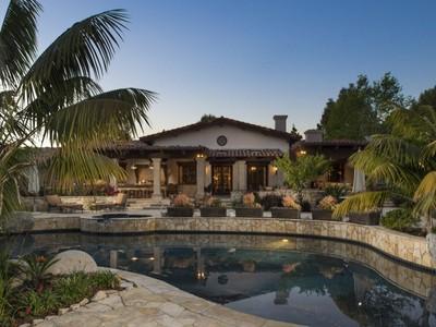 Vivienda unifamiliar for sales at 5119 El Mirlo   Rancho Santa Fe, California 92067 Estados Unidos