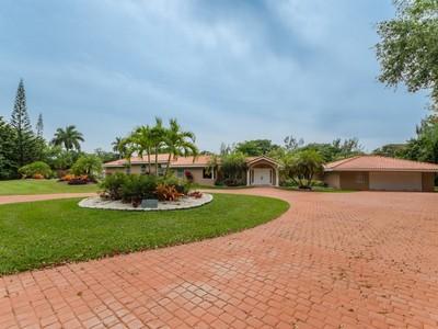独户住宅 for sales at 12200 Vista Lane  Pinecrest, 佛罗里达州 33156 美国