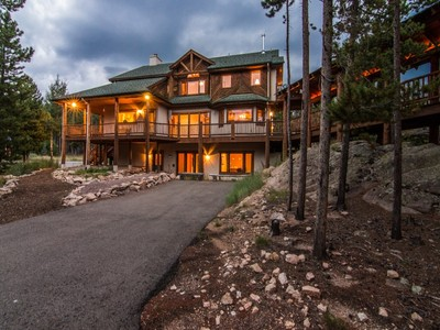 Einfamilienhaus for sales at 9101 Mountain Ranch Road  Conifer, Colorado 80433 Vereinigte Staaten