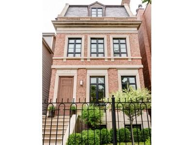 Casa para uma família for sales at Custom Built Lincoln Park Home 2637 N Racine Avenue Chicago, Illinois 60614 Estados Unidos