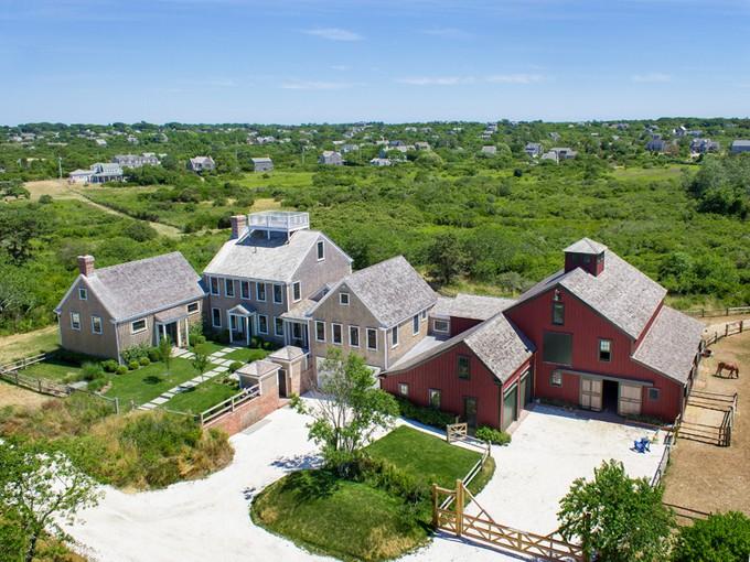 獨棟家庭住宅 for sales at 30 Acres - Spectacular Equestrian Estate 21 Crooked Lane Nantucket, 麻塞諸塞州 02554 美國