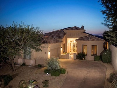 Casa para uma família for sales at Immaculate North Scottsdale Home On Premier Lot With Unbelievable Sunset Views 23450 N Whispering Ridge Way #54 Scottsdale, Arizona 85255 Estados Unidos