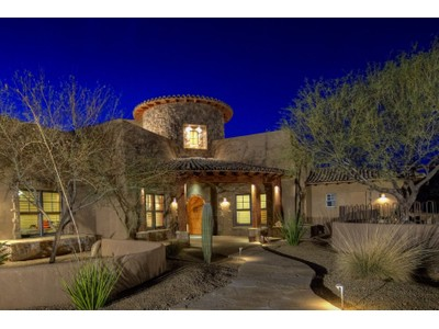 Villa for sales at Gated 5 Acre Estate In Ideal Cave Creek Location Near Rancho Manana Golf 5366 E Rancho Manana Blvd   Cave Creek, Arizona 85331 Stati Uniti