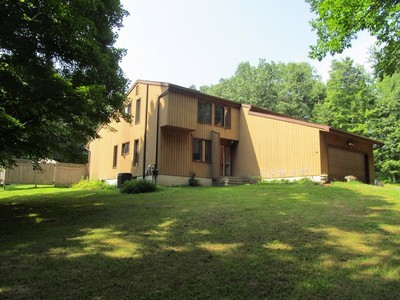 Single Family Home for sales at Sun Drenched Contemporary 40 Wolfpits Road  Bethel, Connecticut 06801 United States