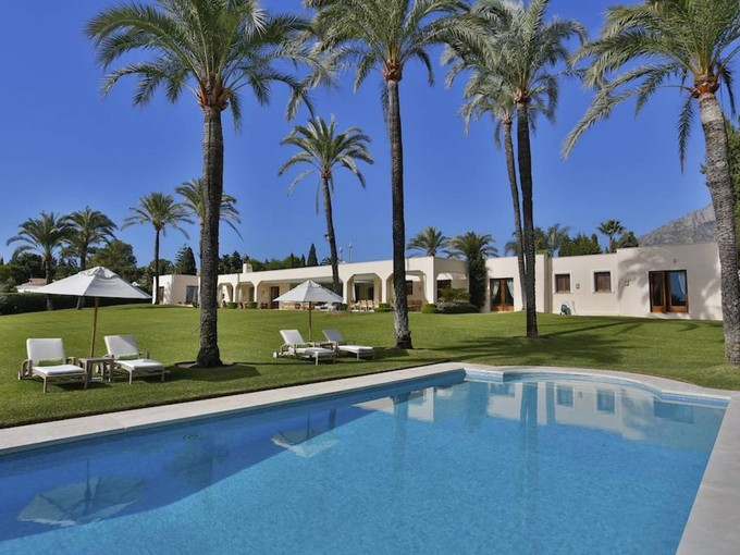 Single Family Home for sales at Beautiful villa located on the Beachside GOLDEN MILE Marbella, Andalucia 29600 Spain