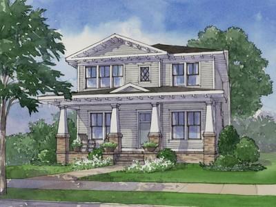 Single Family Home for sales at Timeless Classic in Virginia Highland 1360 Chalmette Drive NE Atlanta, Georgia 30306 United States