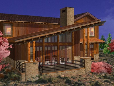 Maison unifamiliale for sales at Luxury Promontory Trappers Cabin with a Fully Sponsored Club Membership 8136 Western Sky Lot 40  Park City, Utah 84098 États-Unis