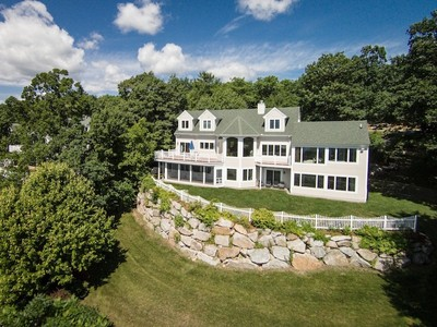 Single Family Home for sales at Panoramic Lake Views from The Ridge 63 Hawk Ridge Road Meredith, New Hampshire 03253 United States