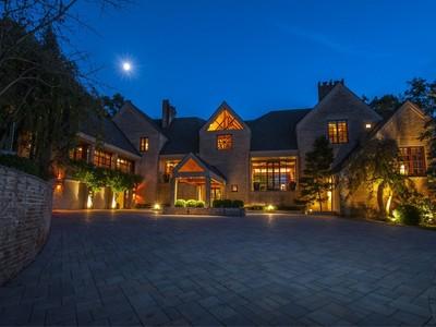 Vivienda unifamiliar for sales at Architectural Gem With Top Of the World Views 80 Hidden Valley Road Far Hills, Nueva Jersey 07931 Estados Unidos