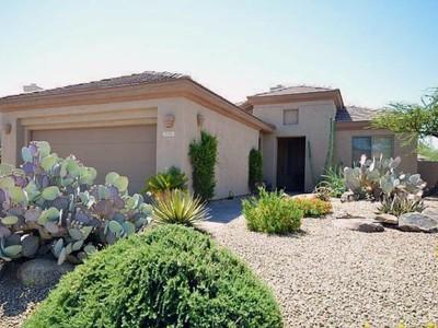 Single Family Home for sales at Popular Floorplan in Guard Gated Terravita 7175 E Aloe Vera Drive Scottsdale, Arizona 85266 United States