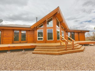 단독 가정 주택 for sales at Stunning Solid Cedar Log Cabin 7246 S Current Creek Mountain Rd Fruitland, 유타 84027 미국