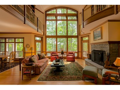 Single Family Home for sales at Insightful & Inspiring 38 Birch Point Sunapee, New Hampshire 03782 United States