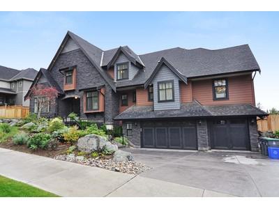 Casa para uma família for sales at Custom Built Executive Home 2861 162nd Street Surrey, Columbia Britanica V3S9X4 Canadá