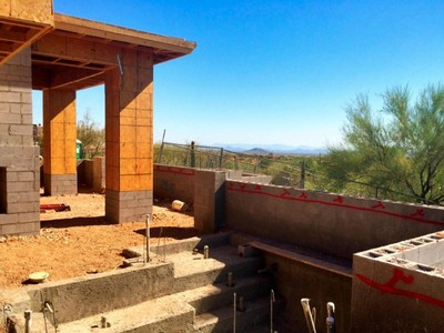 Single Family Home for sales at Southwest Contemporary Nearly Completed In The Village Of Grey Fox In Desert Mtn 39497 N 105th Street #76 Scottsdale, Arizona 85262 United States