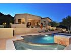 Single Family Home for sales at Luxury Home with Breathtaking Mountain Views on Hillside Lot in Hidden Hills 14465 E Corrine Drive Scottsdale, Arizona 85259 United States