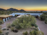 Property Of Contemporary Estate Situated On Nearly 10 Acres Of Tranquil Sonoran Desert