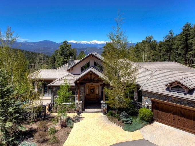 Maison unifamiliale for sales at 5407 Bear Mountain Drive   Evergreen, Colorado 80439 États-Unis