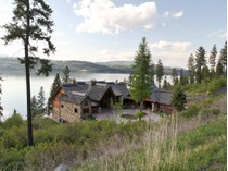 Maison unifamiliale for sales at Private and large waterfront Craftman home 19886 S HEADLANDS DR   Harrison, Idaho 83833 États-Unis