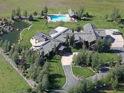 Single Family Home for sales at One of a Kind 6+ Acre Equestrian Estate Bordering Provo River 2114 S Winterton Cir Heber City, Utah 84032 United States