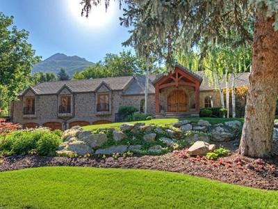 Maison unifamiliale for sales at Prestigious Holladay Neighborhood 2666 Hillsden Dr Holladay, Utah 84117 États-Unis