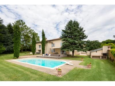 Single Family Home for sales at SUD DE VIENNE- ELEGANTE FERME DAUPHINOISE DE 1830 AVEC VUE SUR LE PILAT, GRAND P REVENTIN-VAUGRIS Other Rhone-Alpes, Rhone-Alpes 38121 France