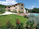 Single Family Home for sales at Sun-filled traditional farmhouse and hay barn in Tuscan countryside. Pievescola-Sermenino Casole D Elsa, Siena 53031 Italy