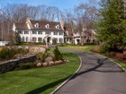 Single Family Home for  sales at Stately Home and Grounds in West Road Enclave 709 West Road New Canaan, Connecticut 06840 United States