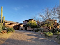 Single Family Home for sales at Private and Secluded Chiricahua Villa Nestled High Above Desert Mountain 42253 N Saguaro Forest Drive   Scottsdale, Arizona 85262 United States