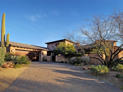 Moradia for sales at Private and Secluded Chiricahua Villa Nestled High Above Desert Mountain 42253 N Saguaro Forest Drive  Scottsdale, Arizona 85262 Estados Unidos