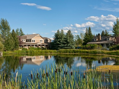 Single Family Home for sales at A Property to Capture Your Imagination 1600 & 1605 Creamery Lane South Jackson Hole, Wyoming 83001 United States