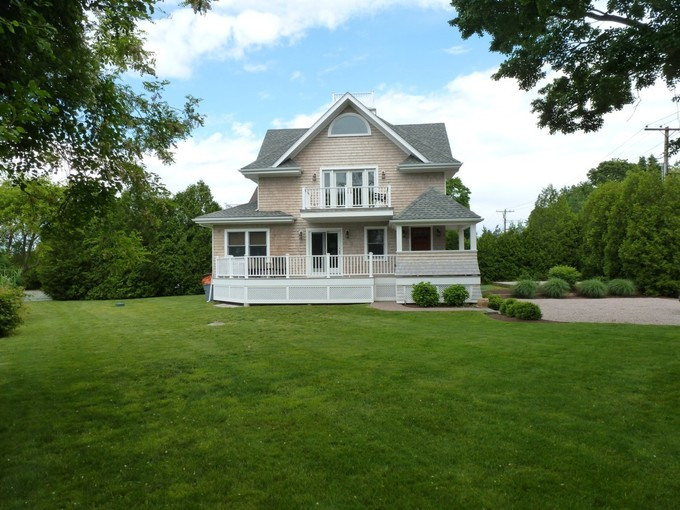 Single Family Home for sales at New Waterfront Cottage in Watch Hill 173 Watch Hill Road   Westerly, Rhode Island 02891 United States