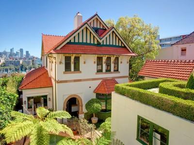 獨棟家庭住宅 for sales at Newstead 1 Yarranabbe Road Darling Point, New South Wales 2027 澳大利亞