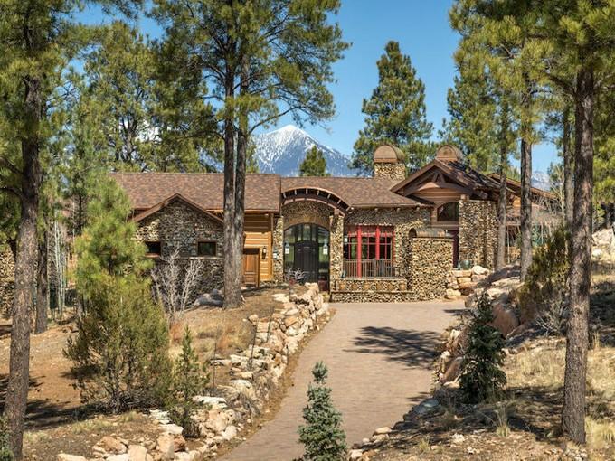 独户住宅 for sales at Stunning Pine Canyon Masterpiece 2039 E Barranca DR   Flagstaff, 亚利桑那州 86001 美国