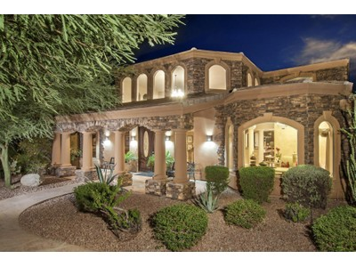 Maison unifamiliale for sales at An Extraordinary Custom Home In Guard Gated Ancala Country Club 11605 E Bloomfield Drive Scottsdale, Arizona 85259 États-Unis