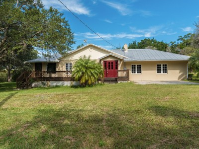 Single Family Home for  at Riverfront Acreage, Two Fine Homes, Endless Opportunity 11725 & 11705 Roseland Road Sebastian, Florida 32958 United States