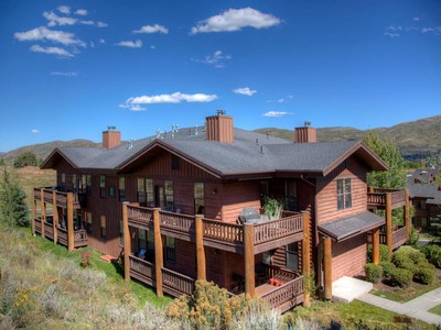 Condominium for sales at Fabulous Location Facing Open Space with Trails 8450 Gambel Dr #R21  Park City, Utah 84098 United States