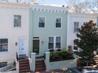 Townhouse for sales at Georgetown 1219 33rd Street Nw Washington, District Of Columbia 20007 United States