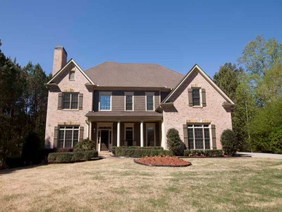 Single Family Home for sales at Estate Home on 2.5 Acres 104 Townsend Pass Alpharetta, Georgia 30004 United States