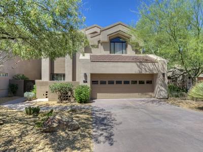 Villa for sales at Updated Home in Windy Walk Estates in Troon Village 25150 N Windy Walk Drive #56 Scottsdale, Arizona 85255 Stati Uniti